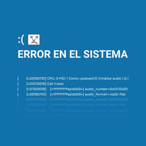 Error en el Sistema